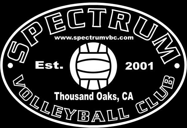 Spectrum Volleyball Club Practice And Tryout Location Athletic Society 2400 Willow Lane Thousand Oaks Ca 91361 Phone 562 537 6179 E Mail Spectrumvolleyballclub Yahoo Com